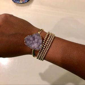 Geo Stone Bracelet